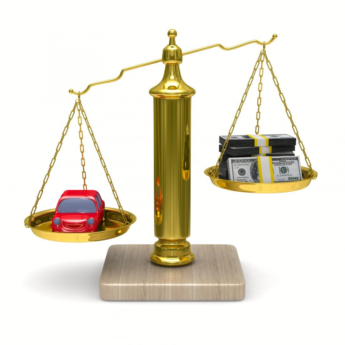 Решение денежных вопросов, связанных с автомобилем